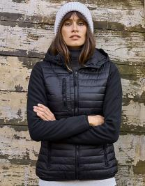 Womens Hooded Crossover Jacket